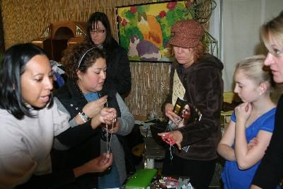 Jewelry Fundraiser at New Leaf - December, 2010